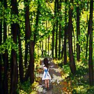 Down The Forest Path by Rachelle Dyer