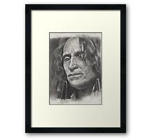 A empty heart and a chipped cup. Framed Print