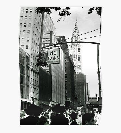 NEW YORK CHRYSLER BUILDING Poster