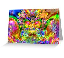 Psychedelic Wonders Greeting Card