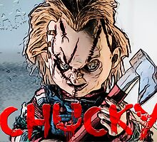 chucky- childs play by American Artist