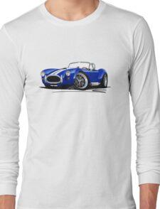 AC / Shelby Cobra Blue (White Stripes) T-Shirt
