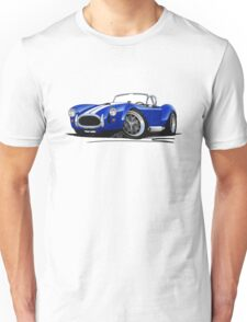 AC / Shelby Cobra Blue (White Stripes) Unisex T-Shirt