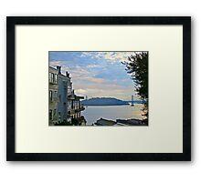 AM San Francisco Bay Framed Print