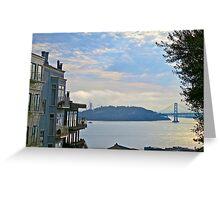 AM San Francisco Bay Greeting Card
