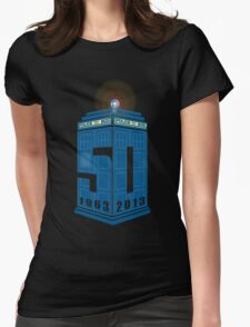 Who's turning 50 Womens Fitted T-Shirt
