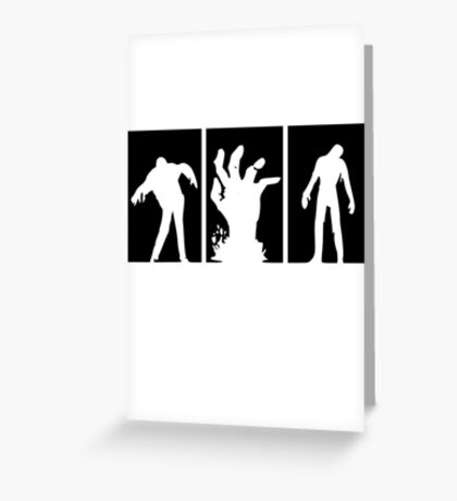 Zombies Dead Greeting Card