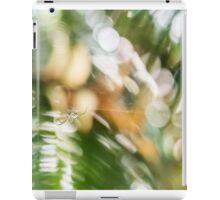 Spider in the Garden iPad Case/Skin