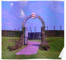 Gate of History Artistic Photograph by Shannon Sears Poster