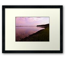 Shoreline Artistic Photograph by Shannon Sears Framed Print