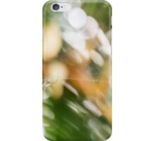 Spider in the Garden iPhone Case/Skin