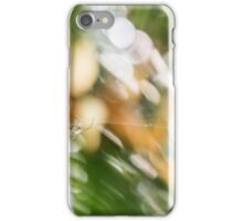 Spider in the Garden iPhone Case/Skin