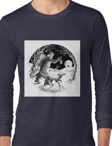 Where shall the 'nighted Showman go? Long Sleeve T-Shirt