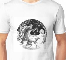 Where shall the 'nighted Showman go? Unisex T-Shirt