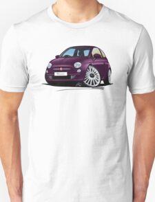 Fiat 500 Purple T-Shirt