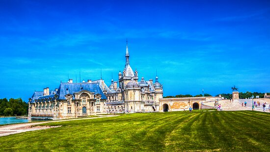 Chateau de Chantilly 3 by John Velocci