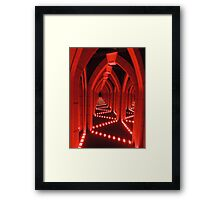 The Road to Hell is Paved with Good Intentions Framed Print