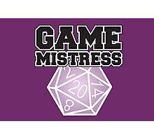 Game Mistress Photographic Print