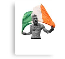 Conor McGregor UFC Fighter Irish Canvas Print
