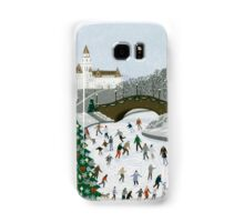Ice skating pond Samsung Galaxy Case/Skin