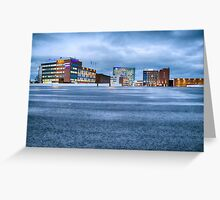 Offices exterior Greeting Card
