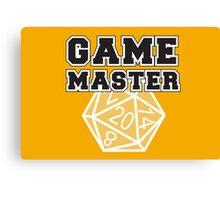 Game Master t-shirt Canvas Print