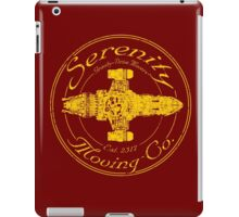 SERENITY MOVING CO.  iPad Case/Skin