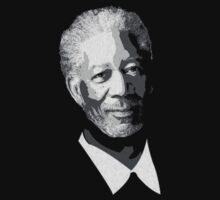 Morgan Freeman by Everwind