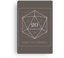 The perfect D20 Canvas Print