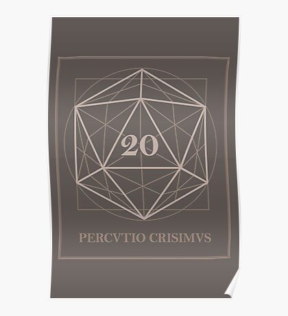 The perfect D20 Poster