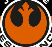 Rebel Resistance Emblem Sticker