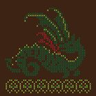 Cross stitch dragon by Tee NERD