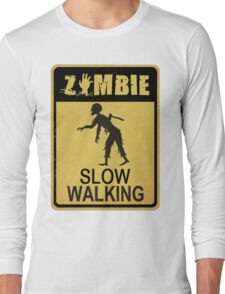 Allert Zombie Long Sleeve T-Shirt
