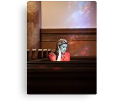 Church Scene Canvas Print