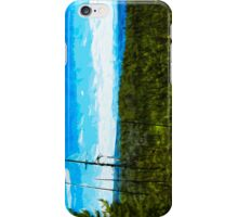 Yellowstone National Park Abstract Impressionism 7 iPhone Case/Skin