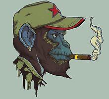 Guerrilla Chimp by mausventura