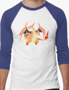 Charizard Mega Y Men's Baseball ¾ T-Shirt