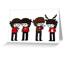 Beatles Christmas Greeting Card