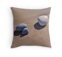 Peace Pebbles Throw Pillow