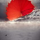 Origami II - Mount Fuji Japan by Philip Zeplin