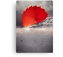 Origami II - Mount Fuji Japan Canvas Print