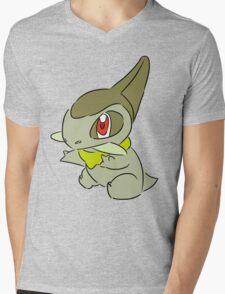 Axew Mens V-Neck T-Shirt