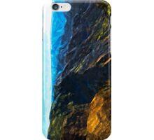 Waimea Canyon Abstract Impressionism iPhone Case/Skin