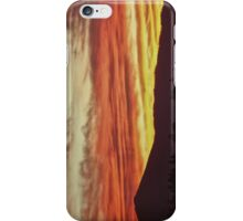 Earth Toned Lake Tahoe Sunset iPhone and iPod iPhone Case/Skin