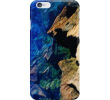 Waimea Canyon 18 Abstract Impressionism iPhone Case/Skin