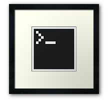 Pixel Shell Framed Print