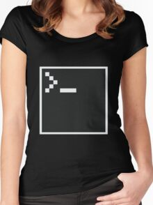 Pixel Shell Women's Fitted Scoop T-Shirt