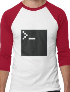 Pixel Shell Men's Baseball ¾ T-Shirt