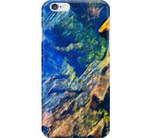 Waimea Canyon 17 Abstract Impressionism iPhone Case/Skin