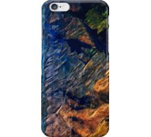 Waimea Canyon 15 Abstract Impressionism iPhone Case/Skin